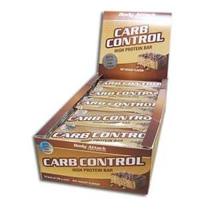 Bilde av Body Attack Carb Control Protein Bar 100g, Nut Nougat 15-pakk