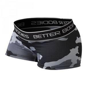 Bilde av Better Bodies Fitness Hot Pant - Grey Camo M - 1 STK