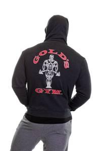 Bilde av Gold's Gym Zip Hoodie - Charcoal M